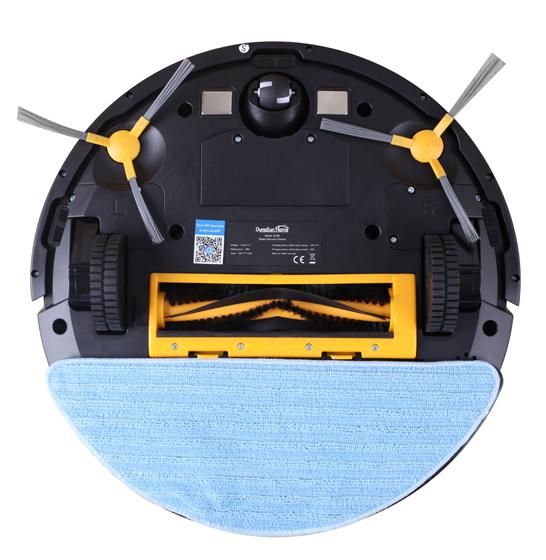Aspirator smart VROBOT-II, control de la distanta, WiFi, functie de spalare, compatibil Google, Alexa 4
