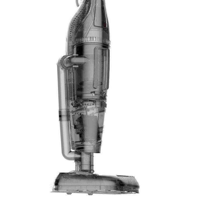 Aspirator si mop cu abur 2 in 1 Deerma ZQ990W, 1300W, sterilizare 99.99%, rezervor apa 380ml, rezervor praf 1.2litri, filtrare HEPA [5]