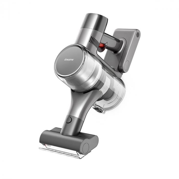 Aspirator vertical Dreame T20 fara fir, 70 minute autonomie, 450W, putere de aborbtie 25000Pa, 0.6L, 125000 RPM, display LCD 4