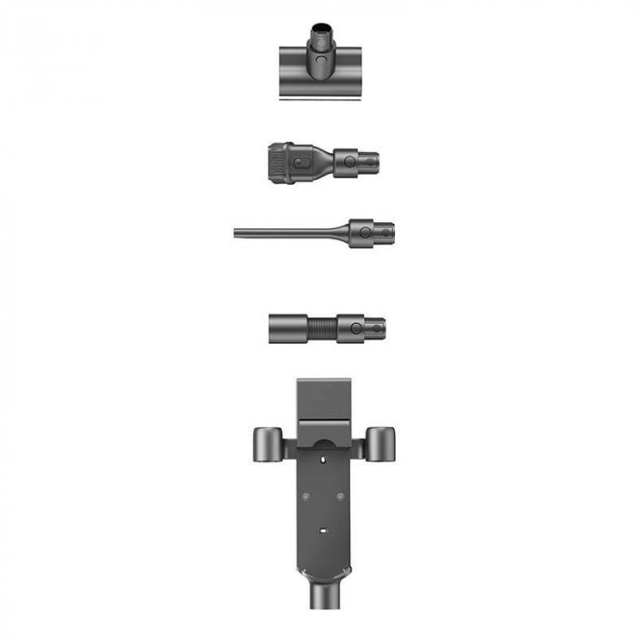 Aspirator vertical fara fir Xiaomi Dreame T20 Pro, 70 min autonomie, baterie suplimentara, perie electrica, absorbtie 25000Pa, 450W, mopping [2]