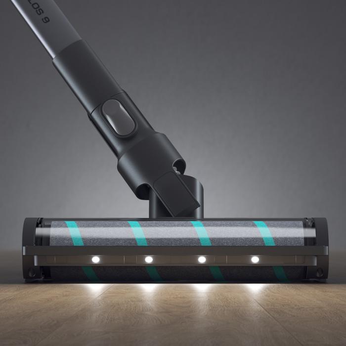 Aspirator vertical wireless Viomi A9,  23000Pa, filtrare ciclonica, 2500mAh, lumini LED, 4 perii, 60 minute autonomie 4