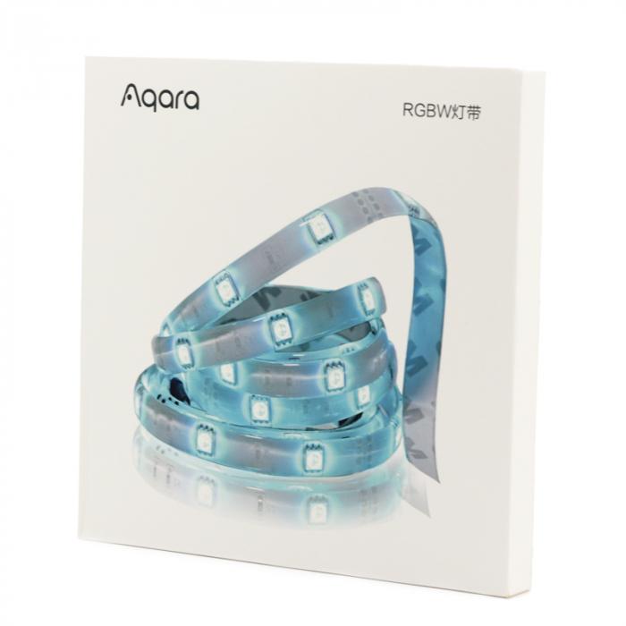Banda LED Aqara 5M RGBW, 16 milioane culori, 12V, SMD 5050, IP65, 1100 lumeni/metru, 1A/m 0
