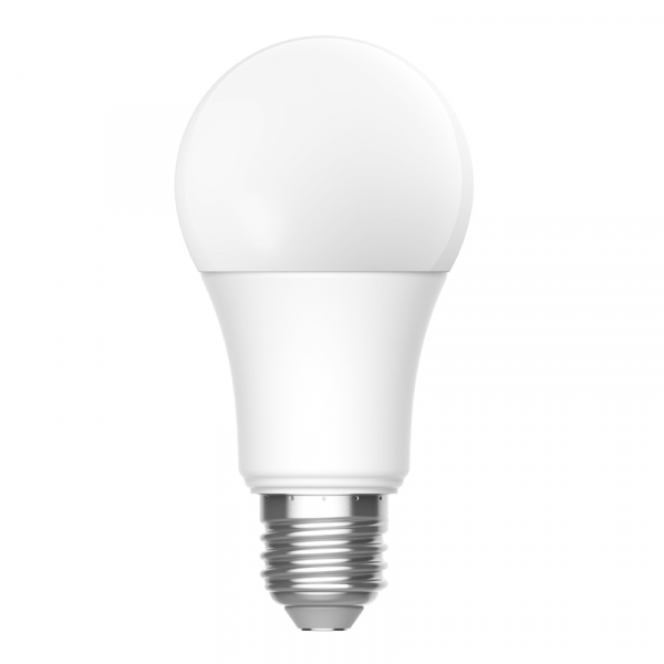 Bec LED Aqara smart, tunable white, E27, 2700K-6500K, 806 lumeni, Zigbee, control vocal, versiune europeana 2