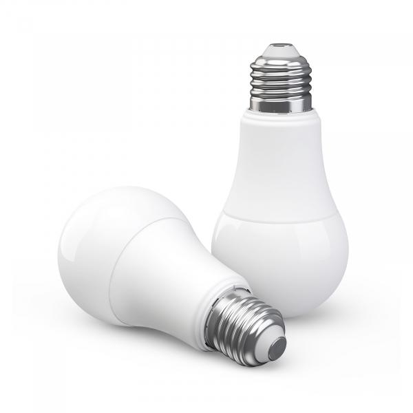 Bec LED Aqara smart, tunable white, E27, 2700K-6500K, 806 lumeni, Zigbee, control vocal, versiune europeana 0