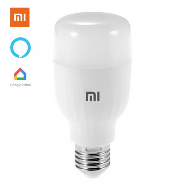 Bec LED smart Xiaomi Essential, 9W, WiFi, lumina alba + color, 950 lumeni, compatibil Google & Alexa, versiune EU 0