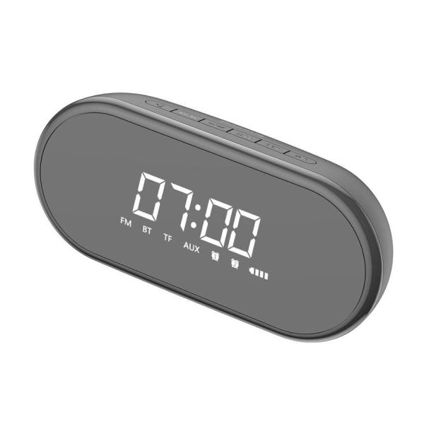 Boxa wireless afisaj LED Baseus Encok E09 cu ceas, radio si lumina de noapte, bluetooth 4.2, jack 3.5mm, microSD 2