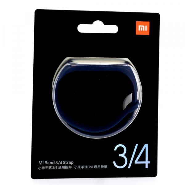 Bratara de schimb Xiaomi Mi Band 4, originala, deep blue 1