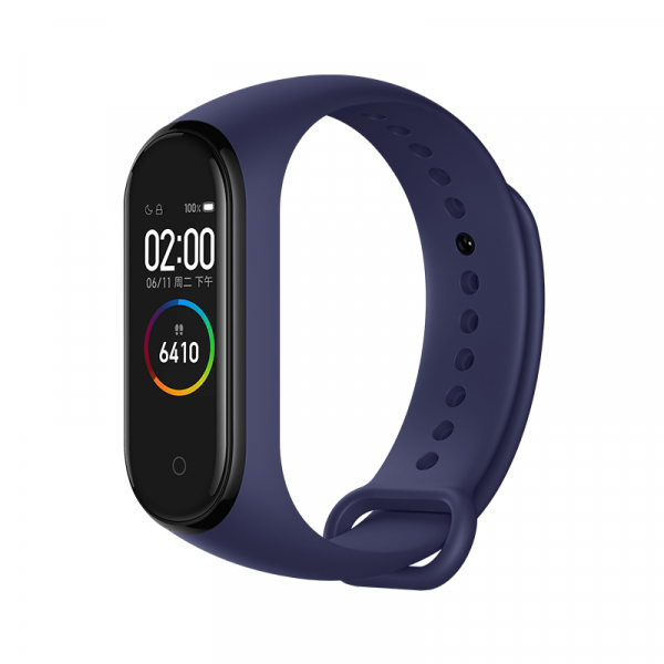 Bratara fitness Xiaomi MI Band 4, HR, AMOLED, waterproof, bluetooth 5.0, 20 zile autonomie, EU, deep blue 0