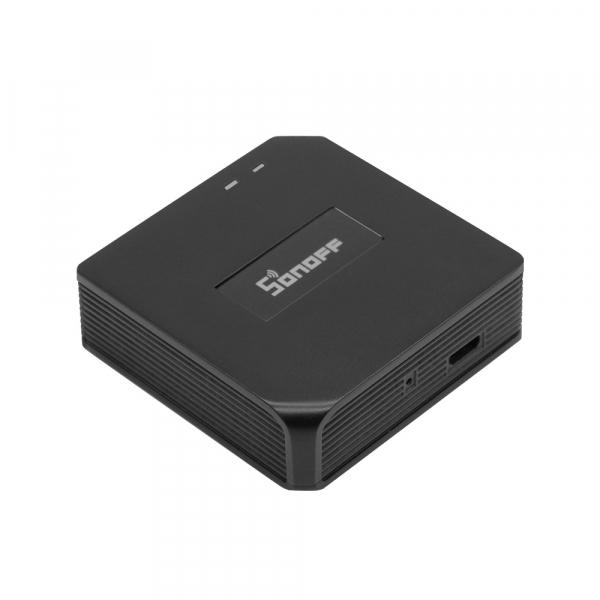Hub smart Sonoff 433 RF Bridge, Wi-FI integrat 2.4Ghz, acces de la distanta, compatibil Google Home, Alexa 0