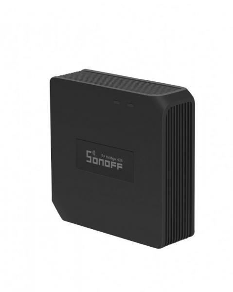 Hub smart Sonoff 433 RF Bridge, Wi-FI integrat 2.4Ghz, acces de la distanta, compatibil Google Home, Alexa 2