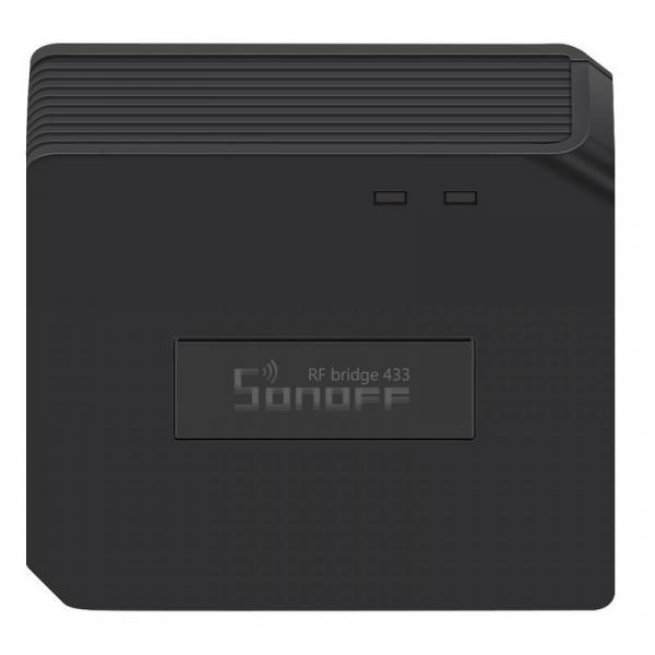 Hub smart Sonoff 433 RF Bridge, Wi-FI integrat 2.4Ghz, acces de la distanta, compatibil Google Home, Alexa 3