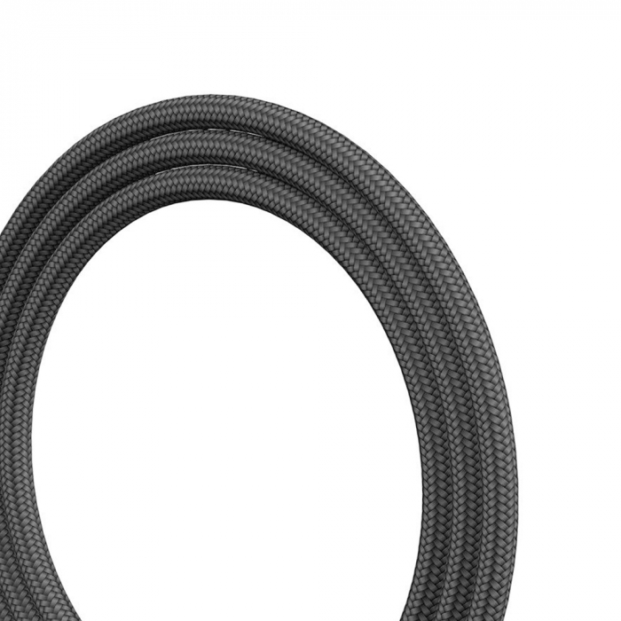 Cablu incarcare Baseus Rapid USB-C LED, invelis textil 2 metri, 2A, 480 Mb/s, negru [3]