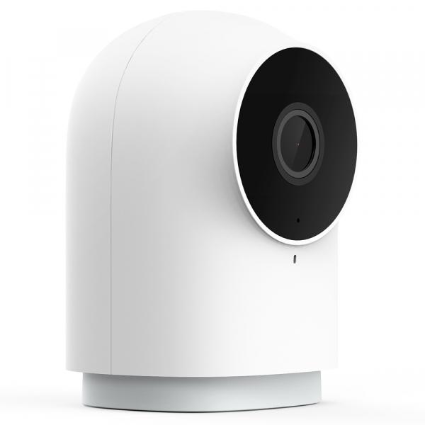 Camera Aqara G2H cu hub Zigbee 3.0 integrat, WiFi, varianta europeana, compatibila Homekit, IR, AI, Full-HD 1080P, FOV 140° 2