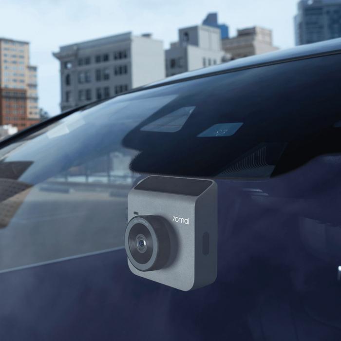 Pachet camera auto smart Xiaomi 70mai A400 QHD rezolutie 2560X1440, FOV 145°, WiFi, plus camera marsarier 70mai RC09 Full-HD, versiune EU [3]