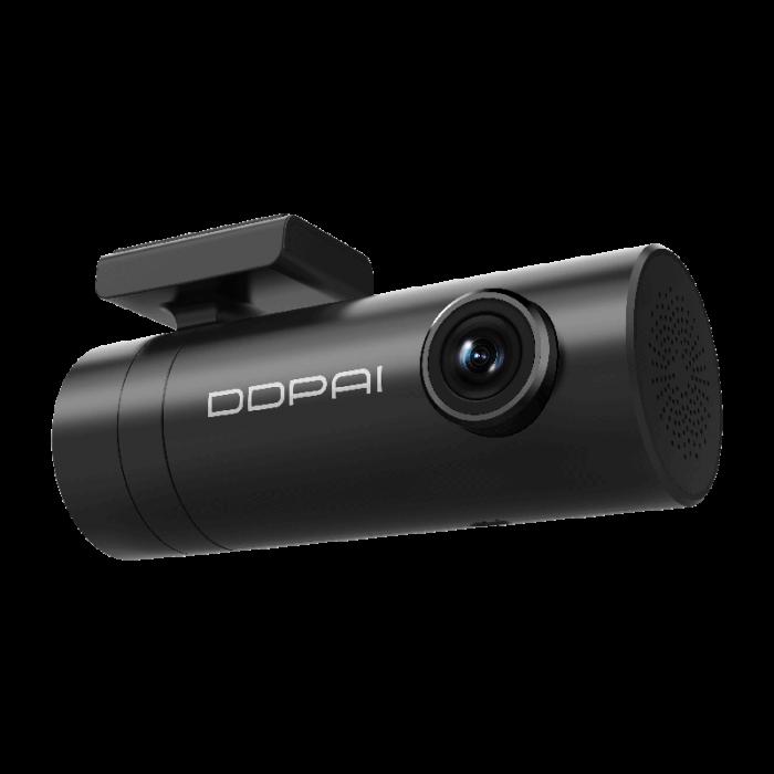 Camera auto DVR DDPAI mini Full-HD 1080p, H.264, 30fps, Wi-Fi, G-sensor, unghi filmare WDR 140°, aplicatie dedicata, versiune EU [1]