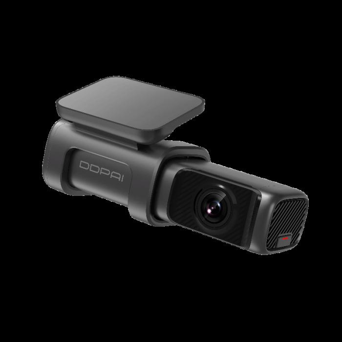 Camera auto DVR DDPAI Mini 5, rezolutie 4K SONY IMX415, WiFi 5Ghz, ADAS, stocare interna eMMc 64GB, GPS integrat, asistent  AI [0]