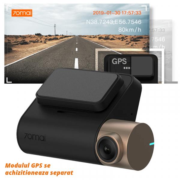 Camera auto Xiaomi 70mai Dash Cam Lite, 1080P 130° WDR, monitorizare parcare, G-sensor, Sony IMX 307 4