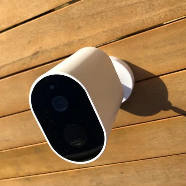 Camera de supraveghere suplimentara Xiaomi Imilab EC2 resigilata, versiune europeana, 1080P, IP66, 5100mAh, AI, detectie miscare, IR 1