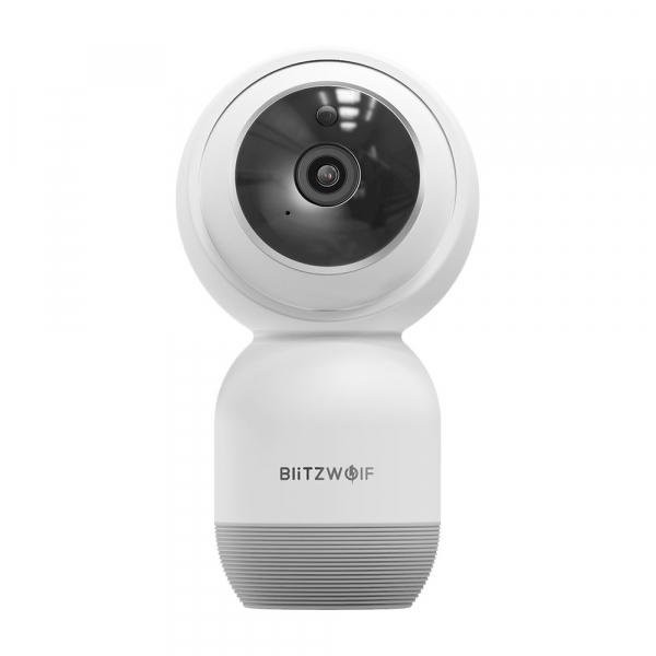 Camera IP smart Blitzwolf PTZ 355°, resigilata 1080P, WiFi, IR, motion tracking, compatibila ecosistem Smart Life 0