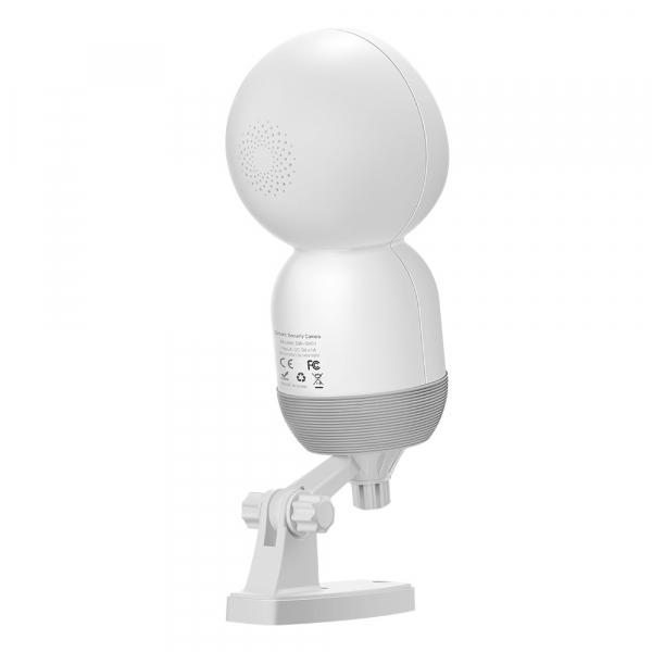 Camera IP smart Blitzwolf PTZ 355°, resigilata 1080P, WiFi, IR, motion tracking, compatibila ecosistem Smart Life 2