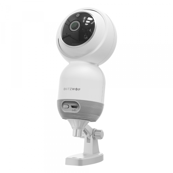 Camera IP smart Blitzwolf PTZ 355°, 1080P, WiFi, senzor de miscare, motion tracking, compatibila ecosistem Vhub 1