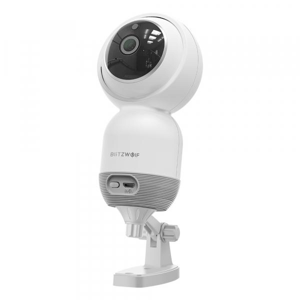 Camera IP smart Blitzwolf PTZ 355°, resigilata 1080P, WiFi, IR, motion tracking, compatibila ecosistem Smart Life 1