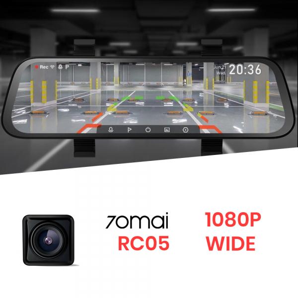 Camera marsarier 70mai RC05 wide 135°, Full-HD 1080p, waterproof IP67, vedere de noapte, live view, asistent parcare [2]