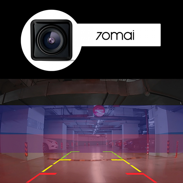 Camera marsarier 70mai RC05 wide 135°, Full-HD 1080p, waterproof IP67, vedere de noapte, live view, asistent parcare [4]