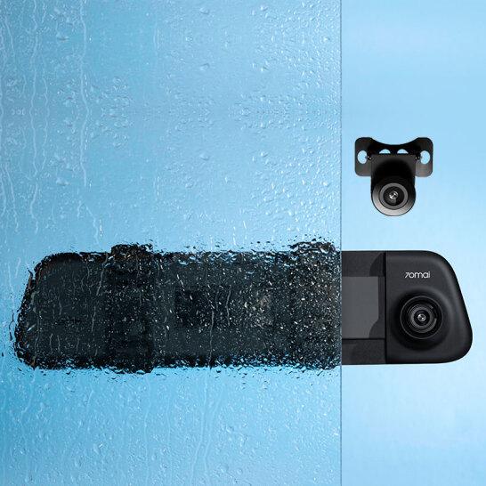 Camera marsarier RC04 pentru oglinda 70mai D07, FOV 120°, Full-HD 1080p, IP67, F1.8, live view, asistent parcare 2