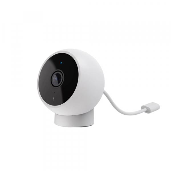 Camera smart WiFi Xiaomi 1080P, H.265, baza magnetica, varianta EU, IP65, senzor miscare, infrarosu, intercom, FOV 170° 2