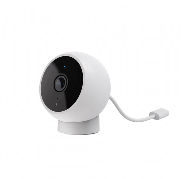 Camera smart WiFi Xiaomi 1080P, resigilata, baza magnetica, EU, IP65, senzor miscare, infrarosu, intercom, FOV 170° 2