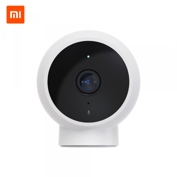 Camera smart WiFi Xiaomi 1080P, H.265, baza magnetica, varianta EU, IP65, senzor miscare, infrarosu, intercom, FOV 170° 0