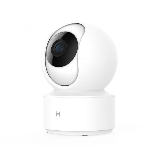 Camera smart Xiaomi IMILAB 360°, resigilata, 1080P Pan/Tilt, Wi-Fi, H.265, detectare planset bebelusi, ecosistem european 2