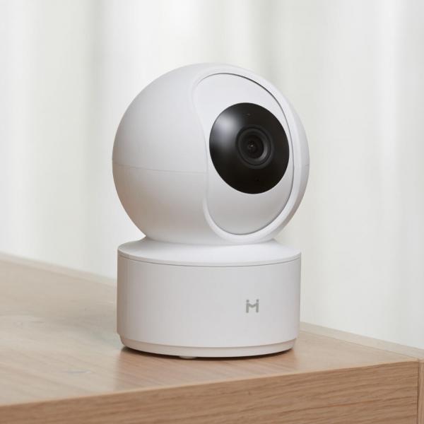 Camera smart Xiaomi IMILAB 360°, resigilata, 1080P Pan/Tilt, Wi-Fi, H.265, detectare planset bebelusi, ecosistem european 4