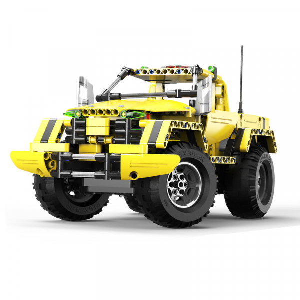 Set constructie camion RC Pickup King Double Eagle, 514 piese, telecomanda inclusa, acumulator inclus 400mAh 0