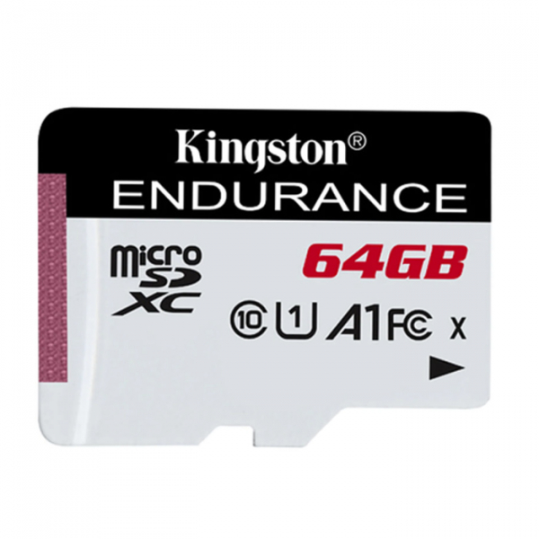 Card memorie Kingston Endurance, Micro-SDXC A1, 64GB, clasa 10, 95 MB/s 1