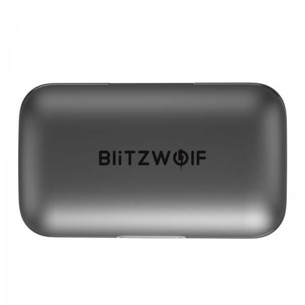 Casti wireless Blitzwolf FYE6, TWS, bluetooth 5.0, touch control, IPX6 waterproof, diafragma grafen, microfon 3