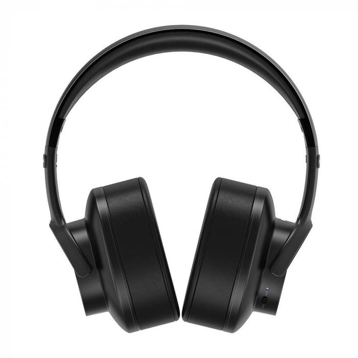 Casti bluetooth 5.0 premium BlitzWolf BW-HP2, diafragma 50mm grafen, 1000mAh, sunet stereo, touch control,  42 ore autonomie [2]