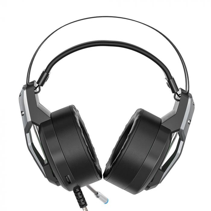 Casti gaming  BlitzWolf BW-GH1 cu sunet Surround 7.1, lumina LED RGB, izolare fonica, structura ergonomica si design elegant [2]