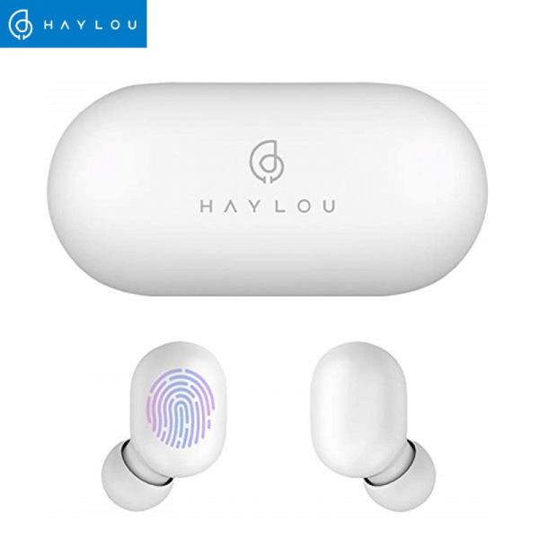 Casti TWS Haylou GT1, bluetooth 5.0, touch control, DSP noise cancelling, waterproof IPX5, AAC & SBC, albe 0