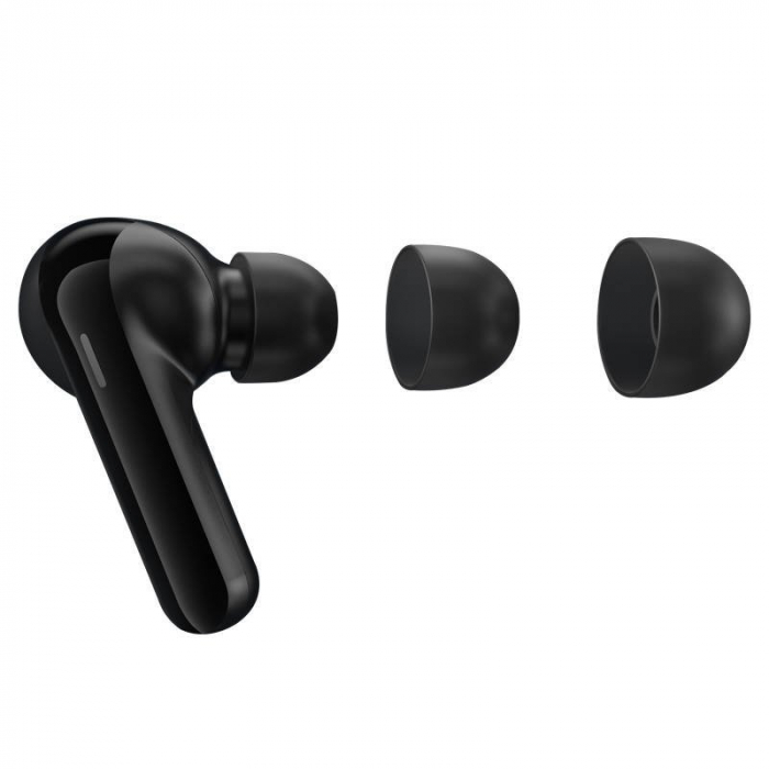 Casti wireless TWS Haylou GT3 Pro, bluetooth 5.0, DSP, design ergonomic, touch control, splashproof IPX4, 600mAh, negre [4]
