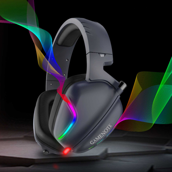 Casti gaming Havit H2019U, USB 7.1, lumina RGB, ergonomic design, sunet 3D stereo, 110 dB 1