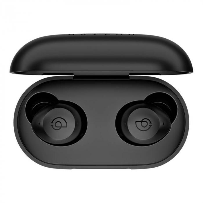Casti wireless TWS Haylou T16 versiune 2021 cu ANC, IPX5, bluetooth 5.0, 600 mAh, suport AAC, USB-C, aplicatie dedicata [2]