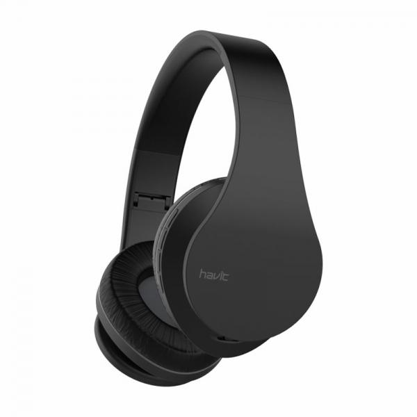 Casti bluetooth on-ear Havit I66, foldable design, wireless, AUX, Micro SD, 230mAh 6 ore autonomie 0
