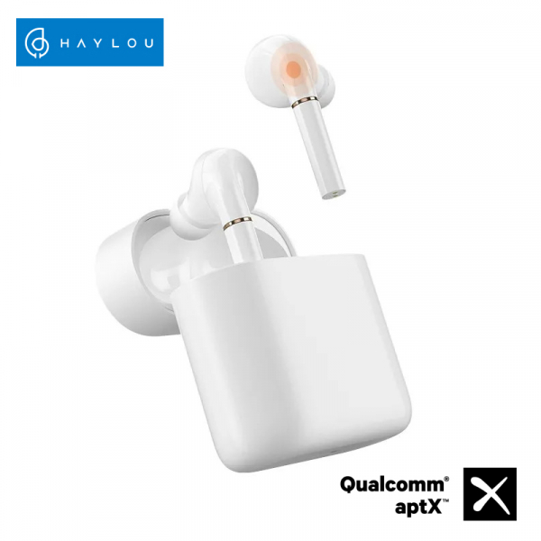 Casti wireless TWS Xiaomi Haylou T19, Qualcomm QCC3020 AptX + AAC, bluetooth 5.0, senzor infrarosu, incarcare wireless, varianta EU 0