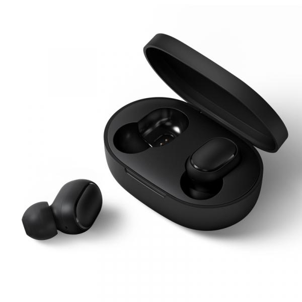 Casti wireless Xiaomi AirDots, bluetooth 5.0, microfon, varianta globala, control AI, earbuds basic