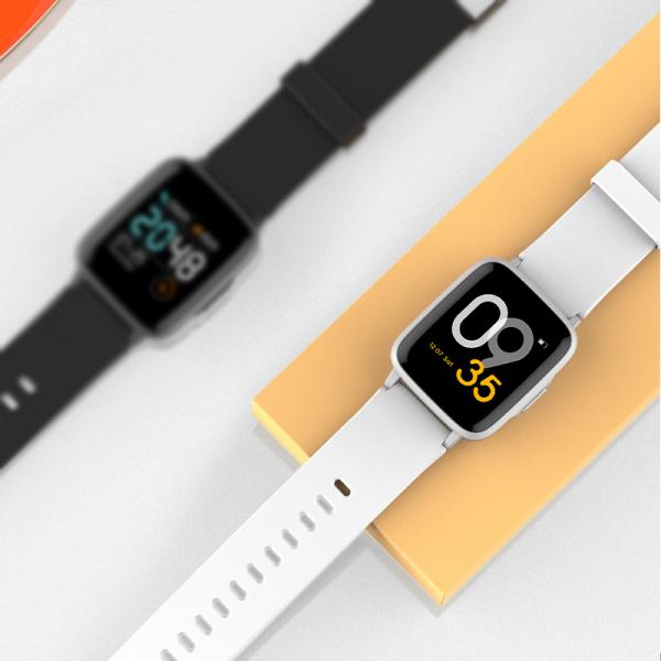 Ceas Smartwatch Xiaomi Haylou Silver, IP68 waterproof, 9 moduri sport, PPG, bluetooth, notificari, 14 zile autonomie 1