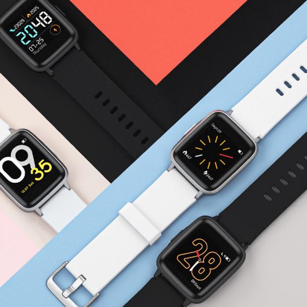 Ceas Smartwatch Xiaomi Haylou Silver, IP68 waterproof, 9 moduri sport, PPG, bluetooth, notificari, 14 zile autonomie 2