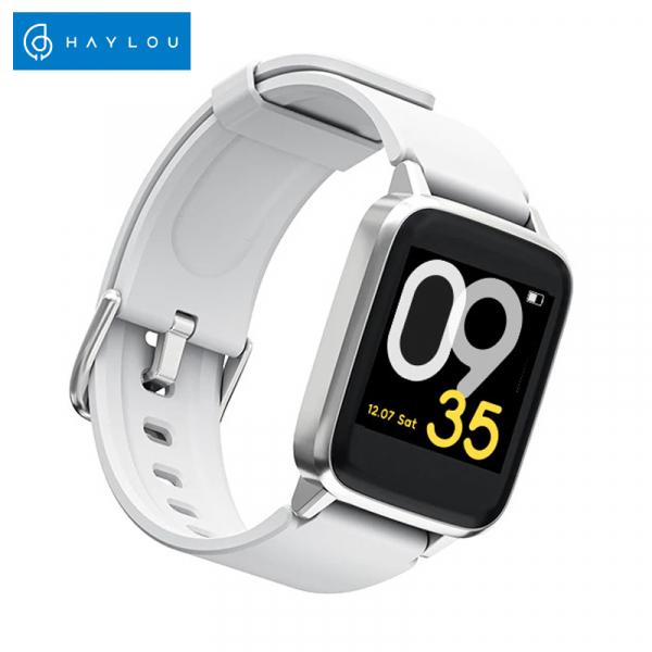 Ceas Smartwatch Xiaomi Haylou Silver, IP68 waterproof, 9 moduri sport, PPG, bluetooth, notificari, 14 zile autonomie 0