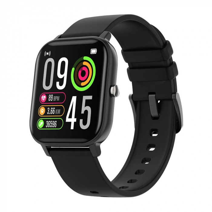 Ceas smart Colmi P8 Pro, monitorizare temperatura, somn, sporturi si ritm cardiac, IP67, notificari, sticla securizata 2.5D 0